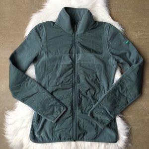 Nike Sherpa Therma-Fit Fleece Zip Up Jacket Green